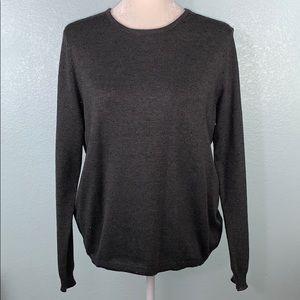 Simply Styled Grey Sweater w/ Rainbow Glitter 26PE